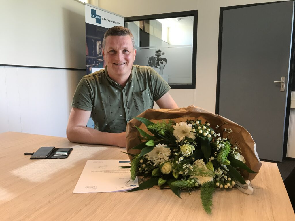 Jan Bakker Sales Manager bij Kolmer